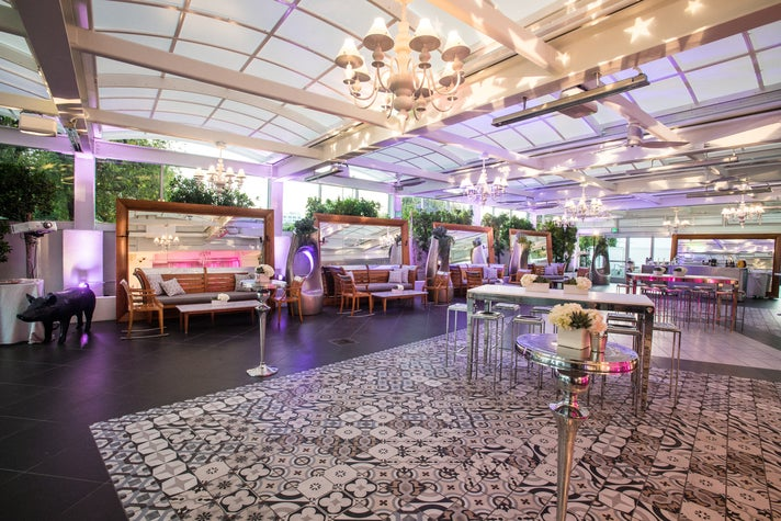Garden Terrace at SLS Beverly Hills