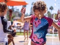 Splash Pad at Annenberg Community Beach House
